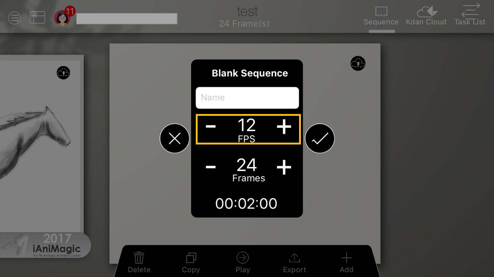 How to Setup FPS (Frame Per Second) – Kdan Mobile
