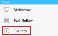 How to Check File Info – Kdan Mobile